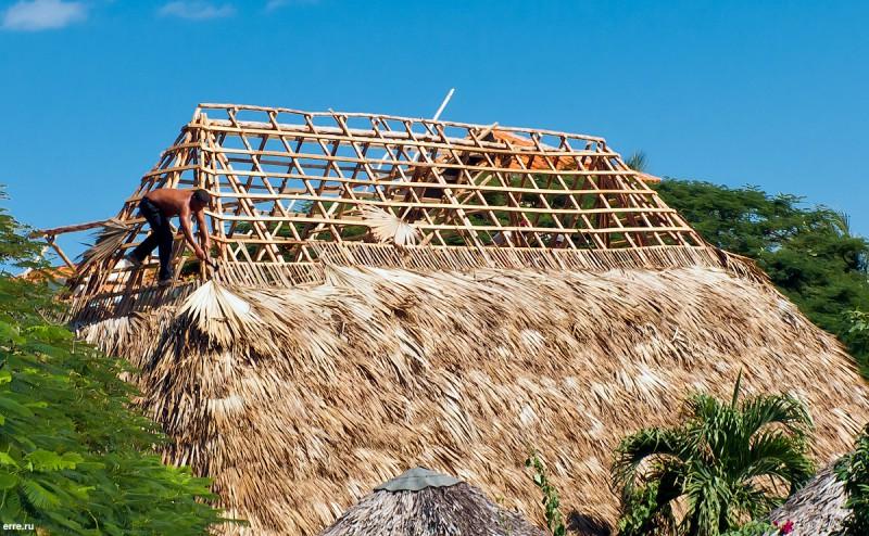 Типичная кубинская крыша
